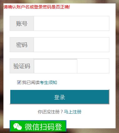 湖北省2019年11月自考机考成绩查询
